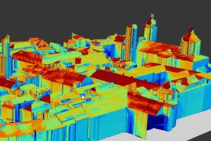 Nowa wersja programu LiS już dostępna <br /> Model budynków 3D centrum Innsbrucka na poziomie LOD2 wykonany w oprogramowaniu LiS 2.1.2.