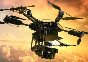 Dron z LiDAR-em dla mas?