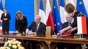 POLSA chce współpracować z Francją <br /> Fot. M. Śmiarowski/KPRM
