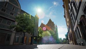 Przedwojenne miasto wskrzeszone w wirtualnej rzeczywistości