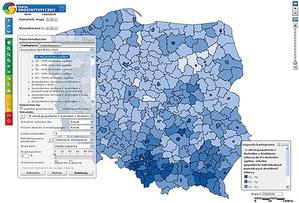GUS zamawia rozbudowę Portalu Geostatystycznego za 10 mln zł