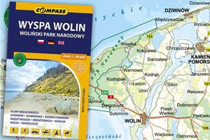 Wyspa Wolin na nowej mapie