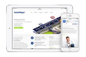 Oglądaj AutoMapę w mobilnej przeglądarce