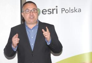 Esri Polska plany na przyszłość <br /> Tomasz Galant, prezes zarządu Esri Polska (fot. DC)