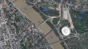 Warszawa udostępnia mapowe API