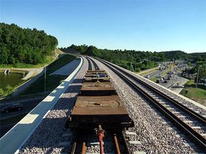 Szybka inwentaryzacja nowej linii kolejowej