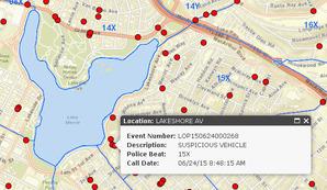 Przestępstwa na żywo na mapie