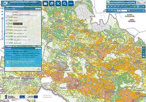 Mapa glebowo-rolnicza w łódzkim geoportalu uzupełniona