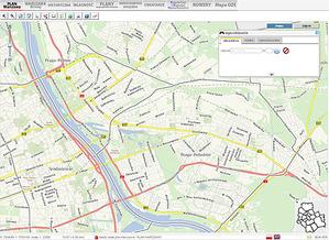 Zaproponuj nową warstwę w stołecznym serwisie mapowym