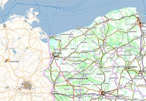 Nowa mapa Europy w Geoportalu