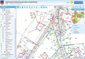 E-mapa powiatu olsztyńskiego wśród topowych inwestycji