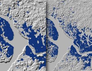Lepsze modele SRTM już dostępne <br /> Dane SRTM w rozdzielczości 3˝ i 1˝ dla delty Nigru