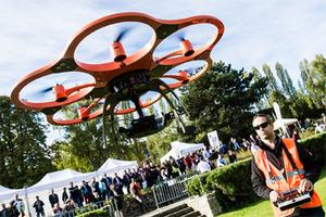 Intergeo 2015 z naciskiem na UAV <br /> fot. Hinte GmbH/Intergeo