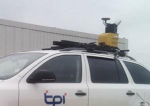 Dron kontra mobilne skanowanie na budowie S5 <br /> fot. Geobiz
