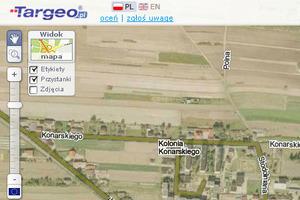 Ortofoto z Geoportalu na Targeo - czy to legalne?