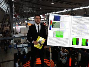Student AGH wyróżniony przez europejskich geodetów <br /> fot. Katarzyna Więch