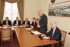 Dyskutowali o planach modernizacji lubuskiej geodezji