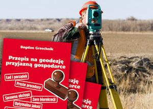 Ankiety dotyczące zmian w geodezji: Kto miał szczęście w losowaniu?