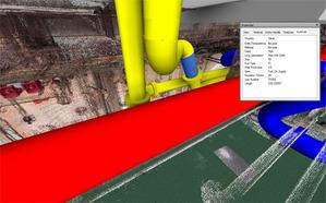 Inteligentny model 3D przyspiesza modernizację statku <br /> fot. Scan 3D