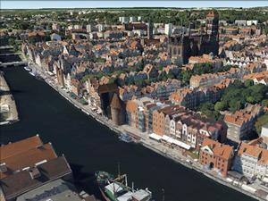 Gdańsk zamawia geodane <br /> fot. Google Earth