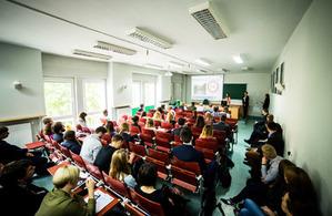 Dyskutowali o GIS-ie w analizach środowiskowych <br /> fot. Damian Wójcik