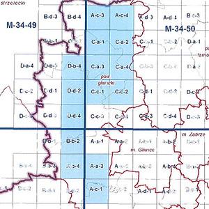 Śląskie zamawia opracowania kartograficzne <br /> Zasięg opracowania (fot. SIWZ)