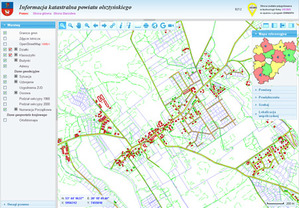 Geoportal powiatu olsztyńskiego się sprawdza