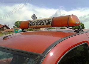 Policja zajmie się sprawą niezgłoszonej pracy geodezyjnej