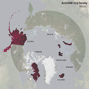 Nowe dane wysokościowe dla Arktyki w internecie