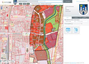 Dane przestrzenne Częstochowy na ogólnopolskim portalu