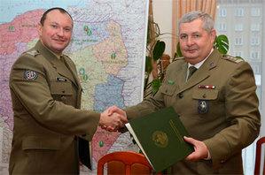 Straż Graniczna będzie korzystać z wojskowych map <br /> Fot. Izabela Bajda (KGSG)