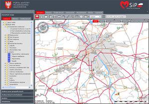 Nowe dane i narzędzia w mazowieckim geoportalu