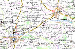 7,5 mln zł na aglomeracyjny GIS <br /> rys. Geoportal.gov.pl