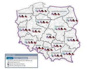 Setki kolejnych zabytków na cyfrowej mapie NID