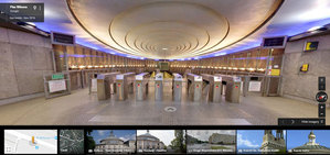 Zwiedzaj warszawską architekturę ze Street View