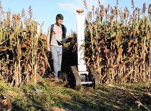 Robot do skanowania upraw