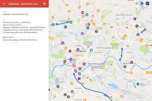 Krakowski ZIKiT stworzył mapę inwestycji na 2017 rok