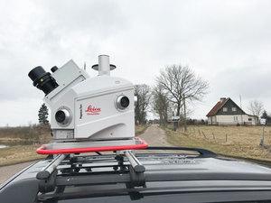 Odtwarzają pruską wieś za pomocą skanerów <br /> fot. Leica Geosystems