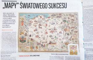 """Przegląd prasy: o fenomenie """"Map"""" Mizielińskich"""
