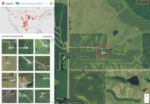 Zobacz, jak sztuczna inteligencja analizuje zdjęcia satelitarne