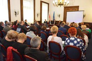 Narada szkoleniowa Służby Geodezyjnej i Kartograficznej województwa łódzkiego