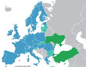 Polka będzie wiceszefową Rady ESA <br /> Kraje członkowskie i współpracujące z ESA (fot. Wikipedia/Ssolbergj)