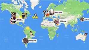 Snapchat zlokalizuje znajomych