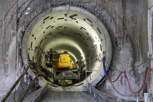 WPG wchodzi na budowę metra <br /> fot. Metro Warszawskie