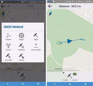 Trimble prezentuje aplikację GIS na Androida