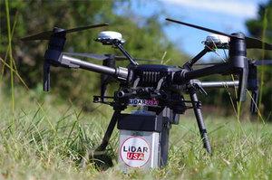 Skaner dla drona nie musi być ciężki