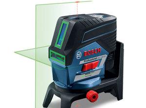 Pierwsze lasery liniowo-punktowe Bosch sterowane za pomocą aplikacji