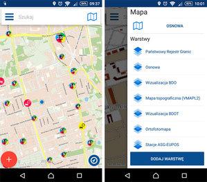 Nowy mobilny Geoportal: ładniej, ale czy lepiej?