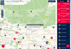 Esri docenia Krajową Mapę Zagrożeń Bezpieczeństwa