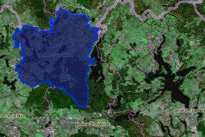 Gmina zniknie z mapy. Przez długi <br /> fot. Geoportal.gov.pl